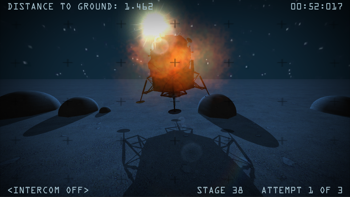 Moon Race Ingame Screenshot