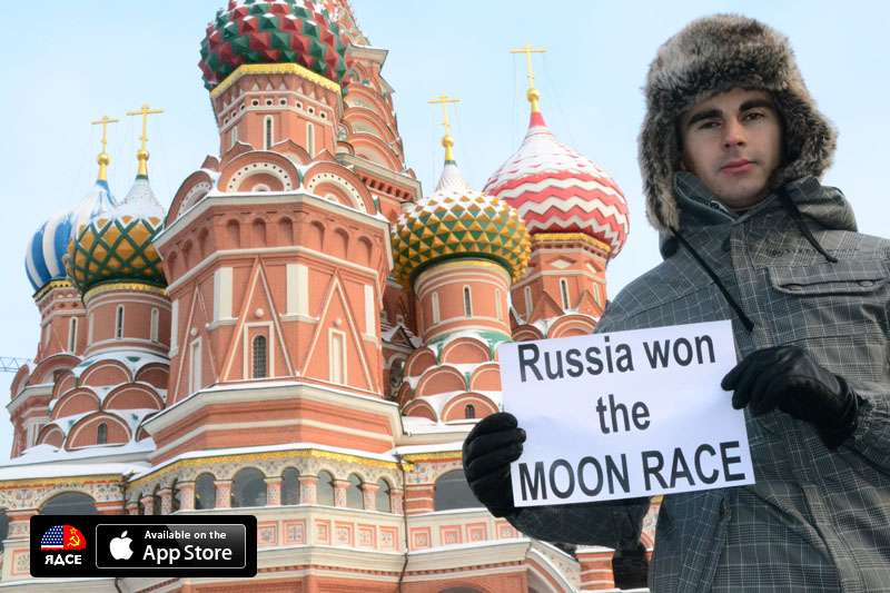 Russia won the Moon Race